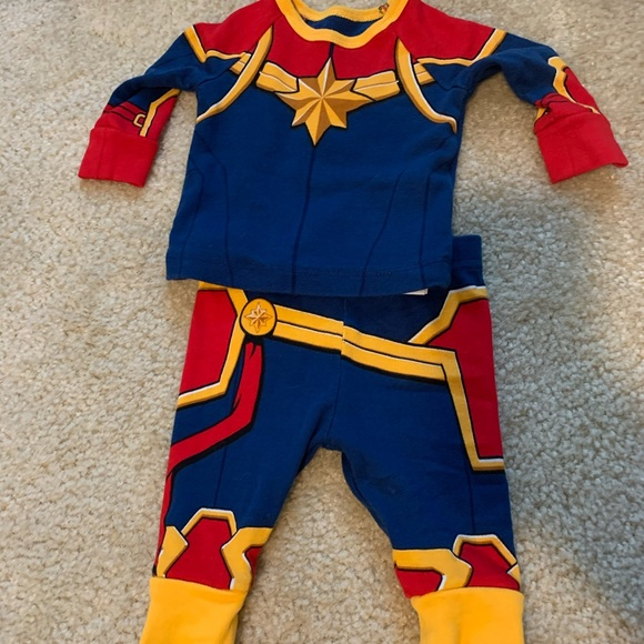 Marvel Pajamas Captain Costume 03 Months Poshmark I have to be connected to the character in some. poshmark